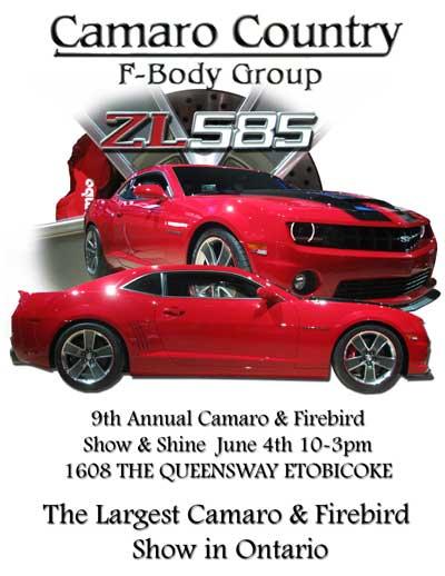 Toronto Area Ccfbg F Body Car Show Moderncamaro Com